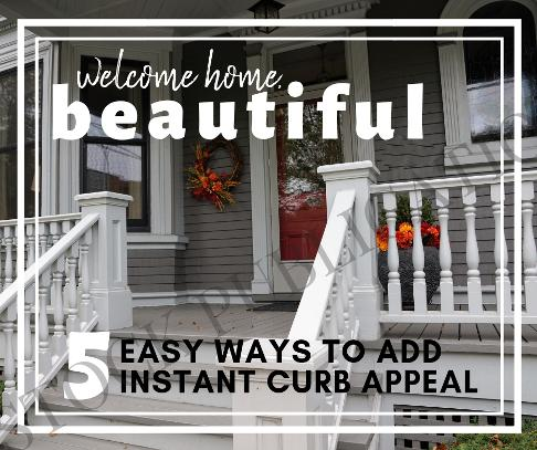 5 ways to add instant curb appeal